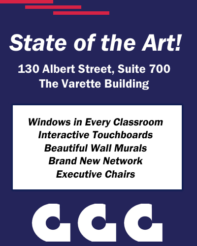 CTES-SETC Training is moving to a brand new, modern office space in the downtown core at 130 Albert, Suite 700